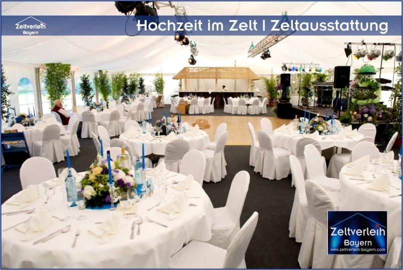 Zelte | Catering | Ausstattung | Entertainment - alles aus einer Hand für Ihre Hochzeit in Regensburg
